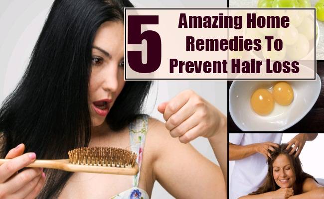 Home Remedies To Prevent Hair Loss