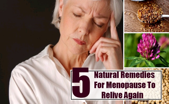 Natural Remedies For Menopause To Relive Again