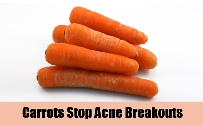 Carrots Stop Acne Breakouts