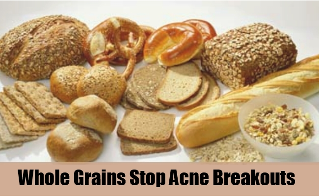 Whole Grains Stop Acne Breakouts