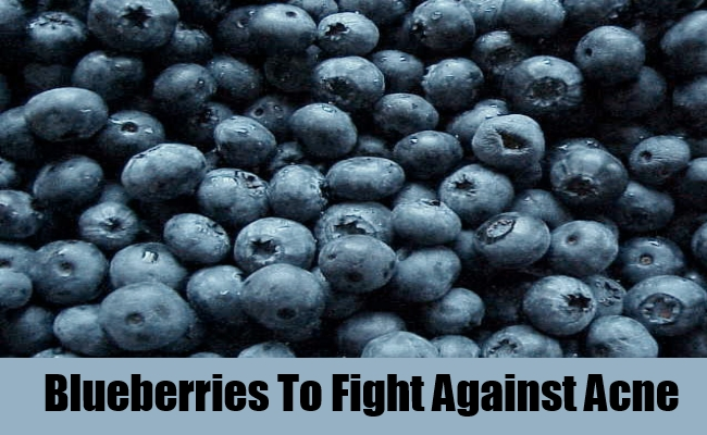 Blueberries To Fight Against Acne