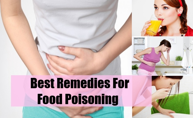 Best Remedies For Food Poisoning