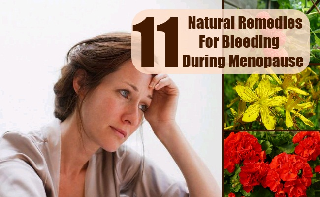 Remedies For Bleeding During Menopause