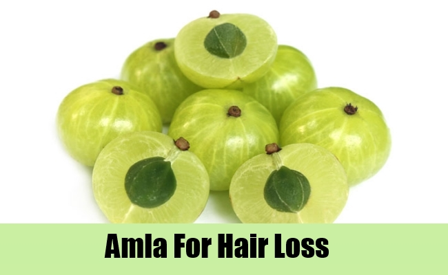 Amla For Hair Loss
