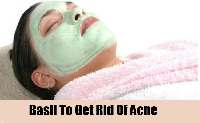 Basil To Get Rid Of Acne
