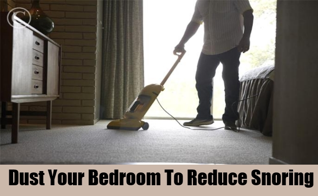 Dust Your Bedroom To Reduce Snoring