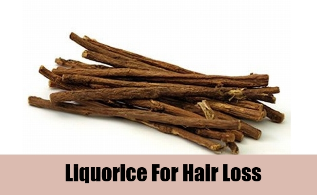Liquorice For Hair Loss