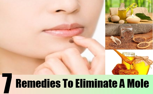 Remedies To Eliminate A Mole