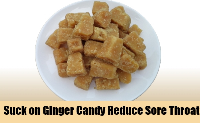Suck on Ginger Candy