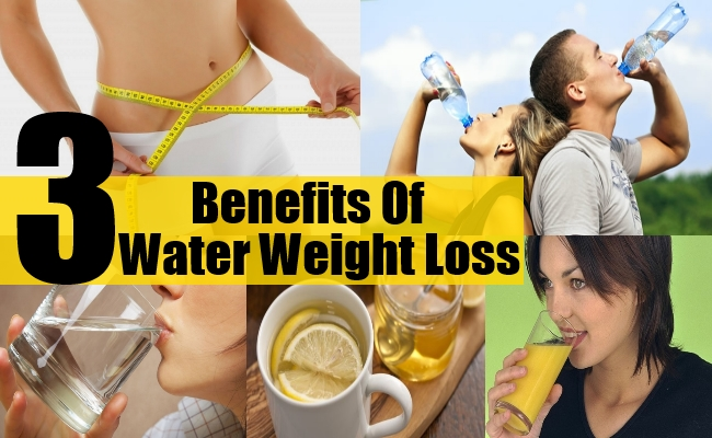 Benefits Of Water Weight Loss