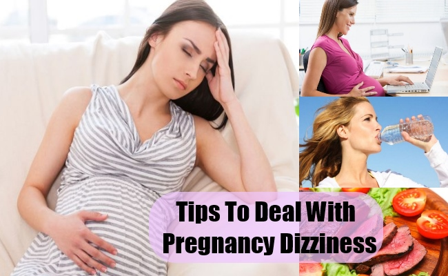 How To Deal With Pregnancy Dizziness