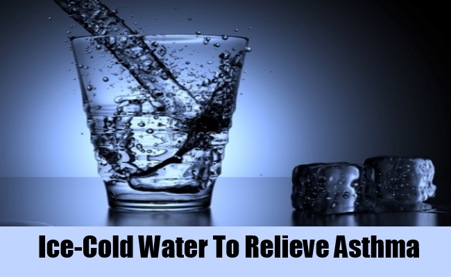 Ice-Cold Water To Relieve Asthma