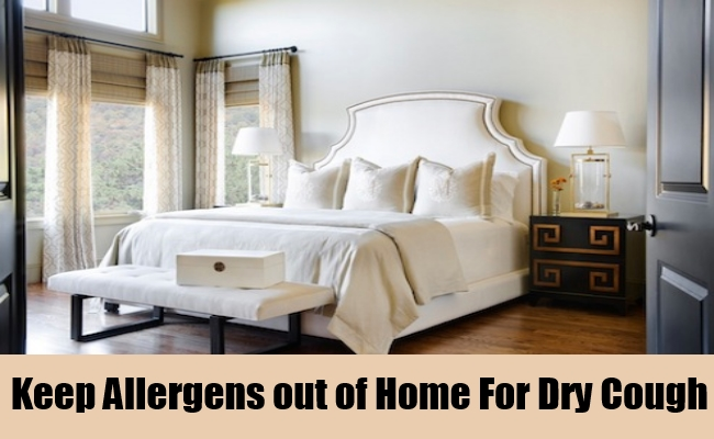Keep Allergens out of the Home