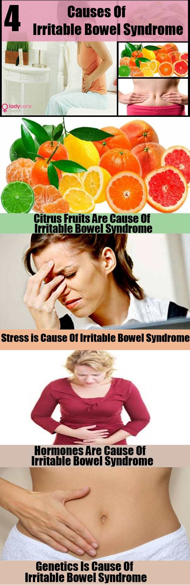 4 Main Causes Of Irritable Bowel Syndrome