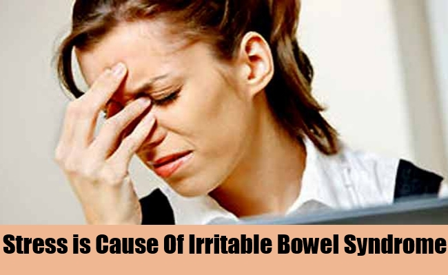 Stress is Cause Of Irritable Bowel Syndrome