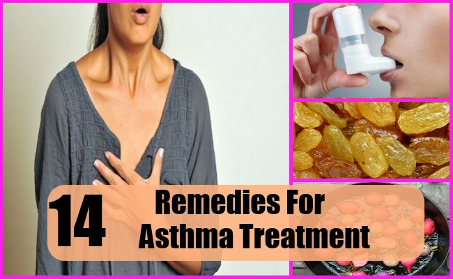 14 Effective Remedies For Asthma Treatment