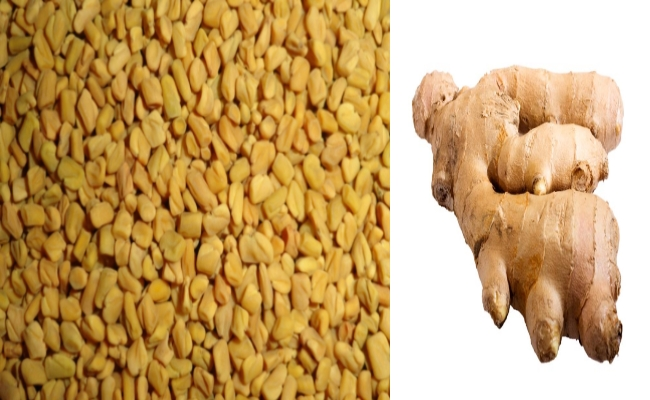 Fenugreek and Ginger