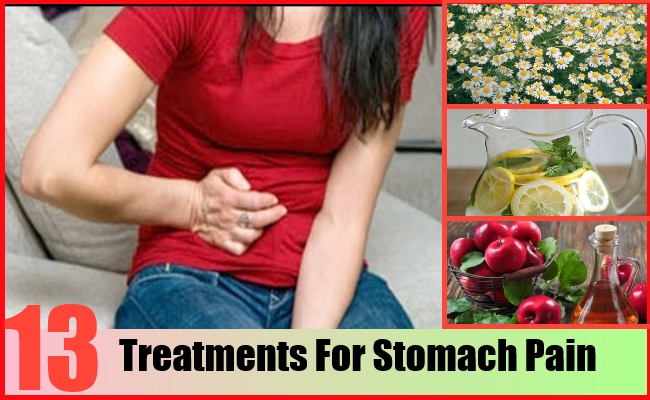 Treatments For Stomach Pain
