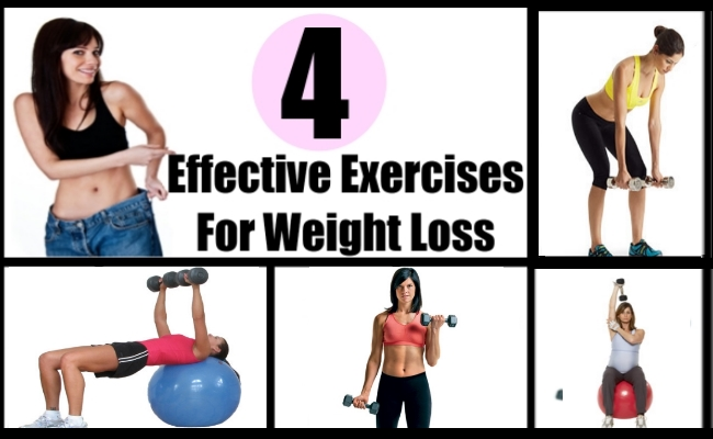 4 Effective Exercises For Weight Loss