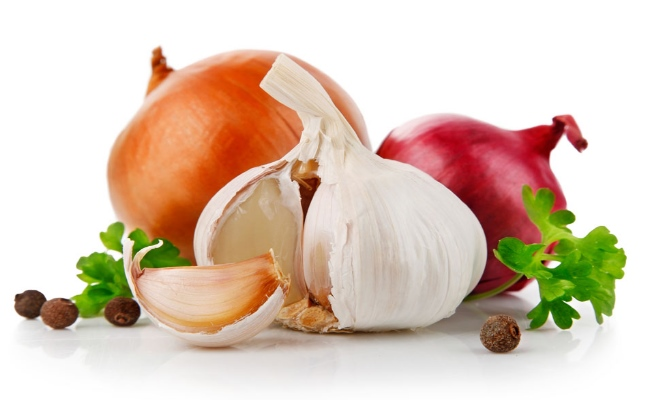 Add Onion And Garlic To Your Food