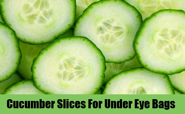 Cucumber Slices For Under Eye Bags