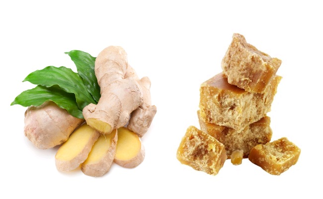 Ginger And Jaggery