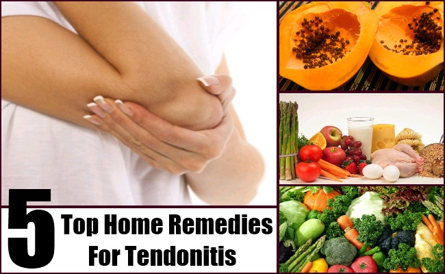 Home Remedies For Tendonitis
