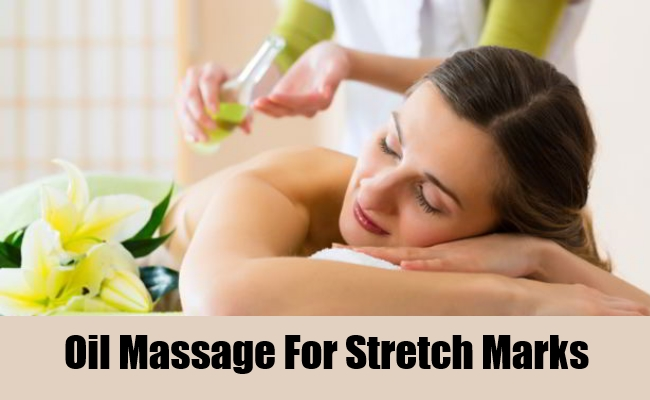 Oil Massage For Stretch Marks