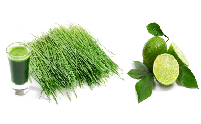 Wheat Grass And Lime