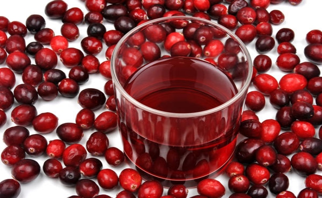 Adhere To Cranberry Juice