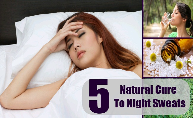 5 Natural Cures For Night Sweats How To Treat Night