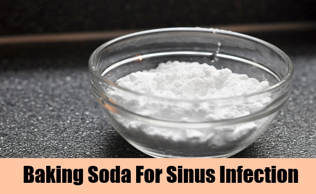 Baking Soda For Sinus Infection