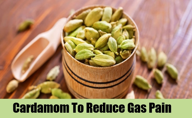 Cardamom Reduce Gas Pain