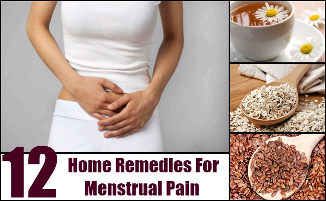 Home Remedies For Menstrual Pain