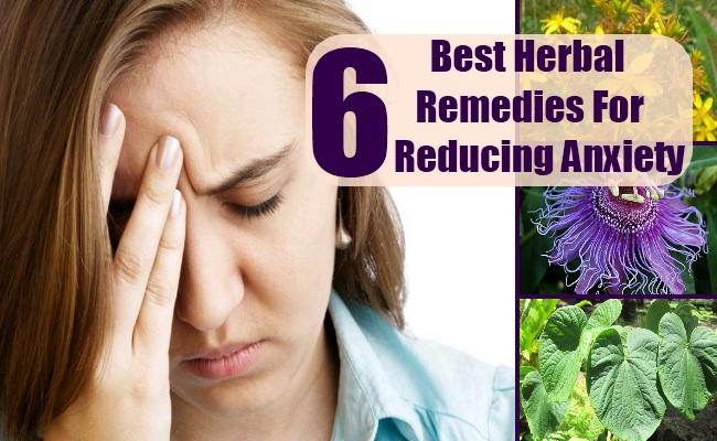 Herbal Remedies For Reducing Anxiety