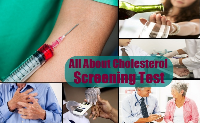 All About Cholesterol Screening Test