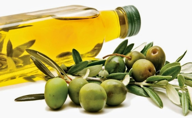 Massaging With Olive Oil