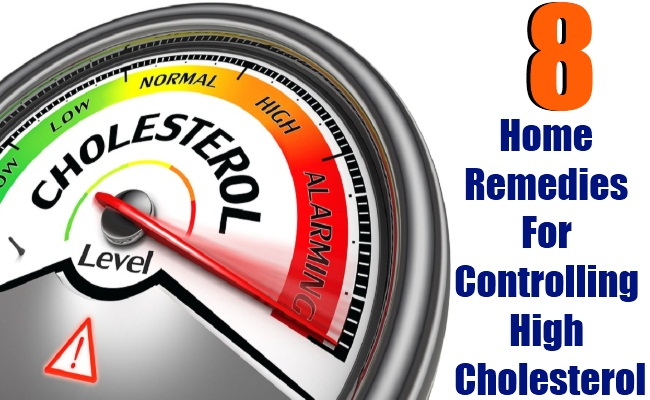 8 Beneficial Home Remedies For Controlling High Cholesterol