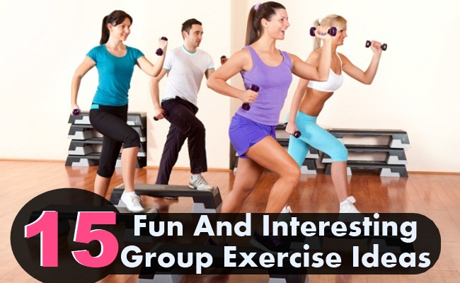 15 Fun And Interesting Group Exercise Ideas