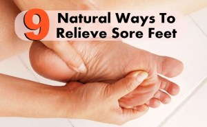 9 Best Natural Ways To Relieve Sore Feet
