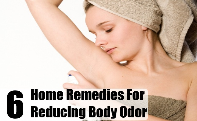 Home Remedies For Reducing Body Odor