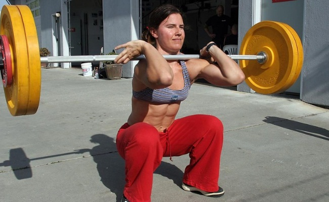 Deep V Squat (4 SETS with 10 Reps each)