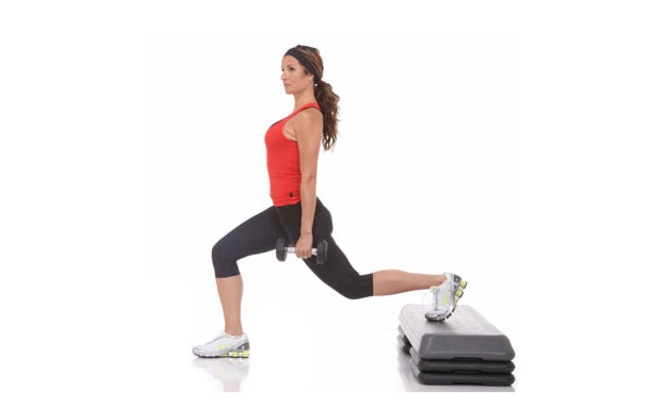 Lunge Squats (4 SETS with 10 Reps each)