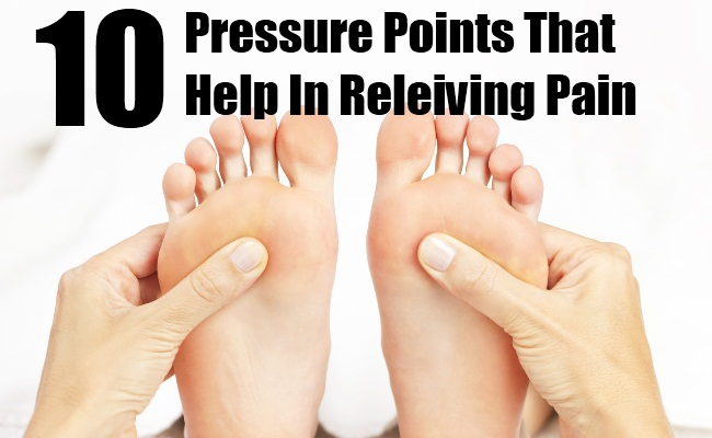 10 Main Pressure Points That Help In Releiving Pain