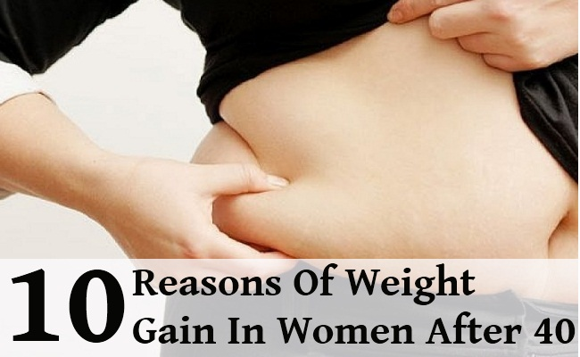 10 Reasons Of Weight Gain In Women After 40
