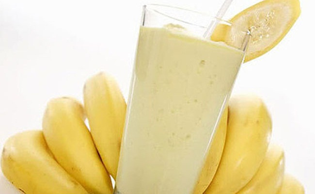 milk and banana