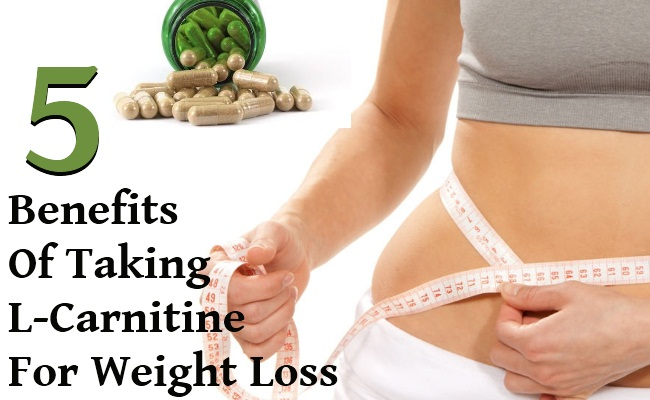 5 Top Benefits Of Taking L-Carnitine For Fast Weight Loss