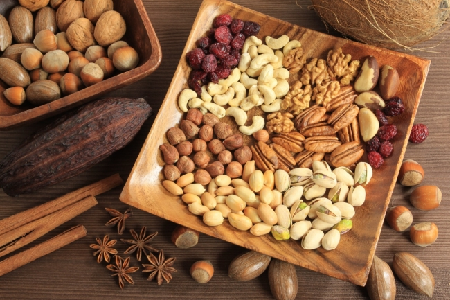 Nuts Of Different Types