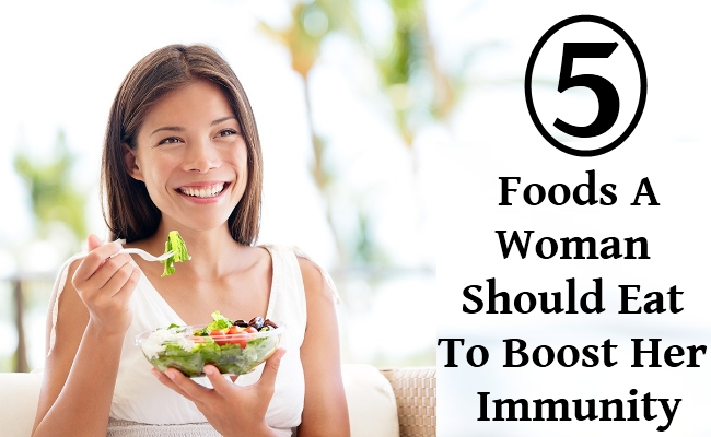 Foods A Woman Should Eat To Boost Her Immunity