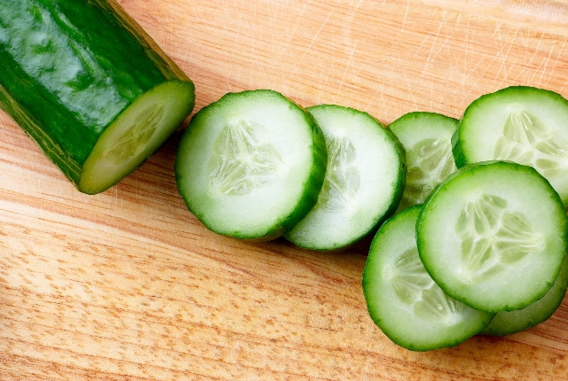 Cucumber Also Provides Relief